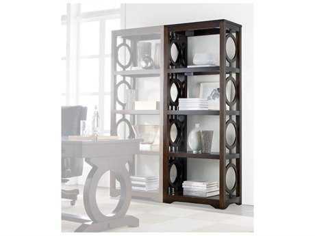 Hooker Furniture Kinsey Dark Wood Bookcase HOO506610443