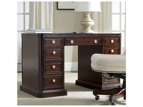 Hooker Furniture Dark Wood 48''L x 26''W Rectangular Writing Desk HOO508310302