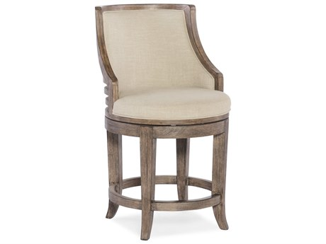 Hooker Furniture Lainey Gray with Samantha Taupe Counter Stool HOO30025053