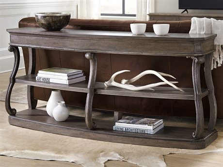 Hooker Furniture Woodlands Medium Wood 70'' Wide Rectangular Console Table