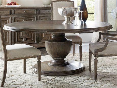 Hooker Furniture Woodlands Medium Wood 72'' Wide Round Dining Table
