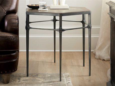 Hooker Furniture Woodlands Medium Wood 29'' Wide Hexagon End Table