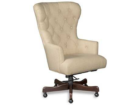 Hooker Furniture Larkin Oat Natchez Brown Executive Chair HOOEC448010