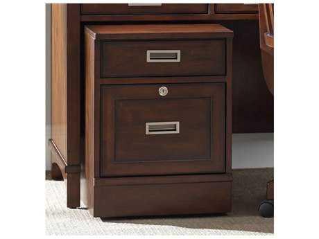 Hooker Furniture Latitude Dark Wood Mobile File Cabinet
