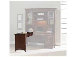 Latitude Dark Wood 52''L x 20''W Rectangular Left / Right Return Desk