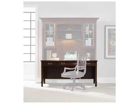 Hooker Furniture Latitude Dark Wood 66''L x 24''W Rectangular Computer Desk HOO516710479