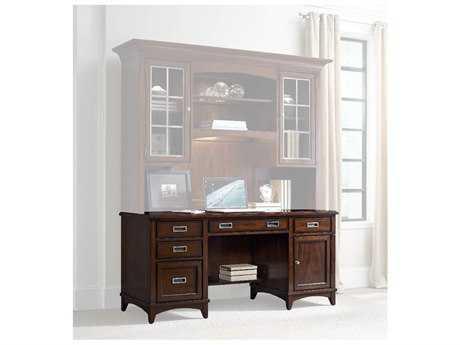 Hooker Furniture Latitude Dark Wood 66''L x 24''W Rectangular Computer Credenza HOO516710464
