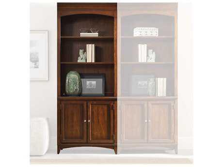 Hooker Furniture Latitude Dark Wood Bunching Bookcase
