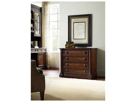 Hooker Furniture Leesburg Rich Traditional Mahogany Lateral File Cabinet