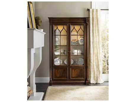 Hooker Furniture Leesburg Rich Traditional mahogany China Cabinets HOO538175906
