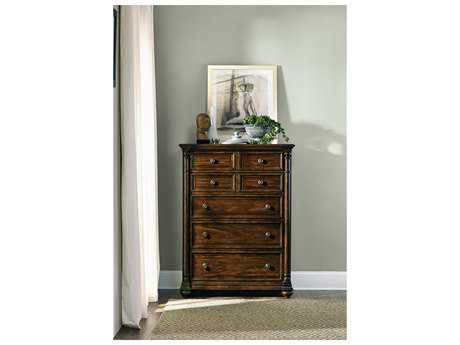Hooker Furniture Leesburg Rich Traditional Mahogany 42''W x 20''D Rectangular Chest of Drawers