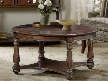 Hooker Furniture Leesburg Mahogany 42'' Wide Round Cocktail Table HOO538180111