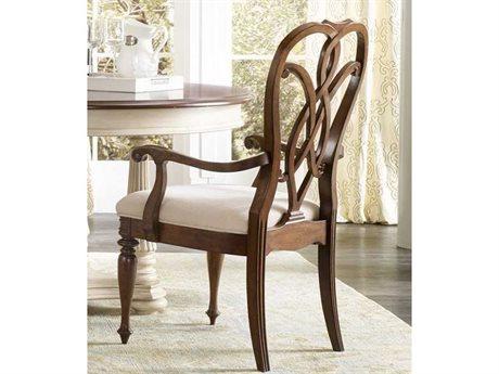 Hooker Furniture Leesburg Splatback Mahogany Dining Arm Chair