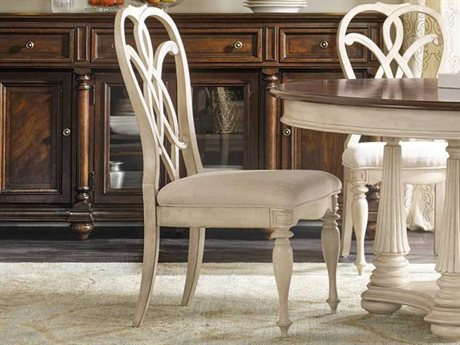 Hooker Furniture Leesburg Antique White Side Dining Chair