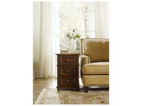 Hooker Furniture Leesburg Mahogany 16''L x 25''W Rectangular Chairside End Table HOO538180114