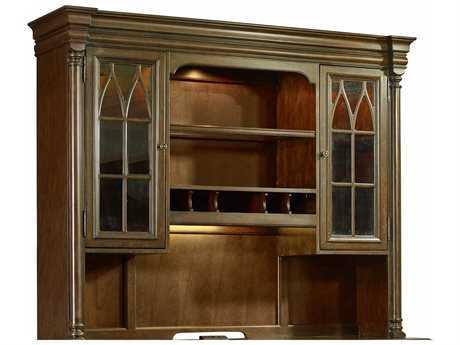 Hooker Furniture Leesburg Rich Traditional Mahogany Computer Credenza Hutch HOO538110467