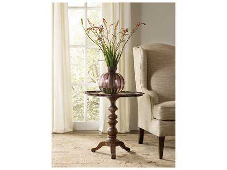 Hooker Furniture Leesburg Mahogany 24'' Wide Round Pedestal Table HOO538150001
