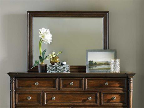 Hooker Furniture Leesburg Rich Traditional mahogany 47''W x 34''H Rectangular Wall Mirror HOO538190008