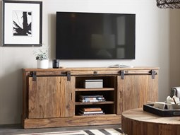 L'Usine Medium Wood 77''L x 19''W Rectangular Entertainment Console
