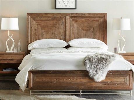 Hooker Furniture L'Usine Medium Wood Queen Size Panel Bed