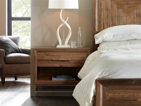 Hooker Furniture L'Usine Medium Wood 32''W x 17''D Nightstand
