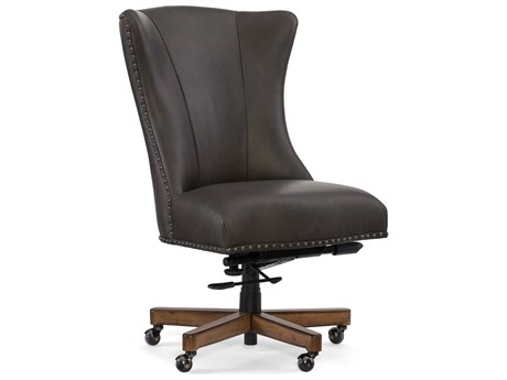 Hooker Furniture Lynn Caruso Naples with Medium Wood Executive Chair HOOEC483079