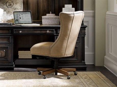 Hooker Furniture Lynn Caruso Falvo with Medium Wood Executive Chair HOOEC483083