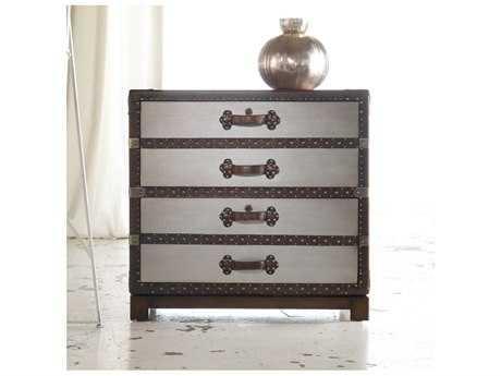 Hooker Furniture Melange Faux Zinc Bondurant Lateral File Cabinet