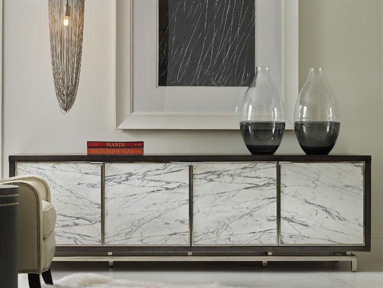 Credenza Dark Wood : Wood sideboard living spaces