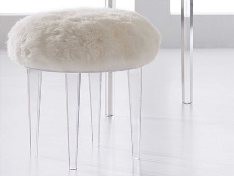 Hooker Furniture Melange Clear Accent Stool