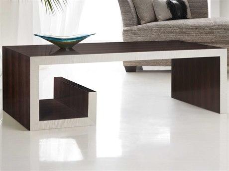 Hooker Furniture Melange Dark Wood 52'' Wide Rectangular Coffee Table