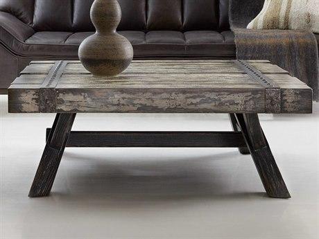 Hooker Furniture Melange Black 44'' Wide Rectangular Coffee Table