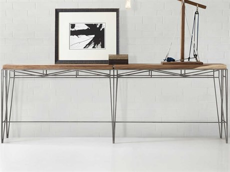 Hooker Furniture Melange Parota / Pewter 88'' Wide Rectangular Console Table