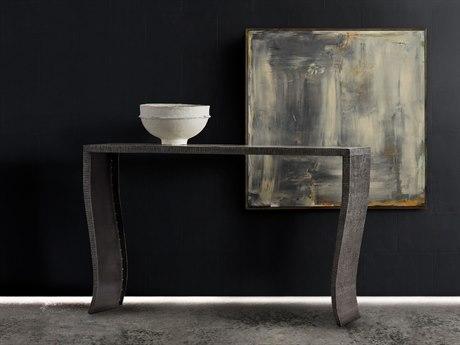 Hooker Furniture Melange Gray 56''L x 14''W Rectangular Everett Console Table