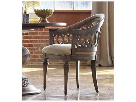 Hooker Furniture Cambria Light Wood Dining Arm Chair