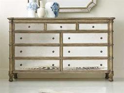 Melange Gold Double Dresser
