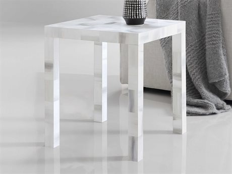 Hooker Furniture Melange Grey 20'' Wide Square End Table