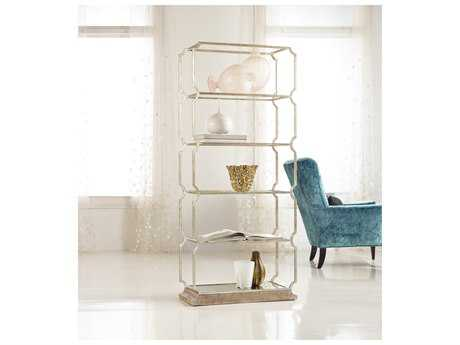 Hooker Furniture Melange Champagne Carter Metal Etagere