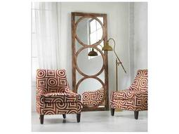 Melange Medium Wood 32''W x 84''H Rectangular Encircle Floor Mirror