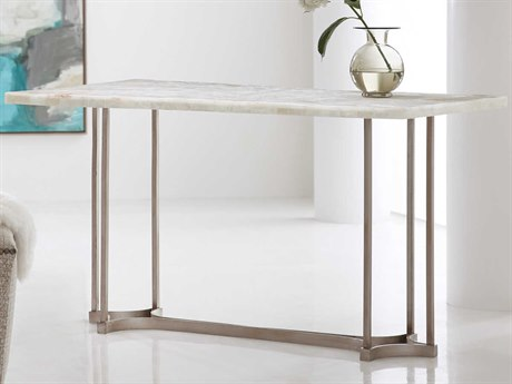 Hooker Furniture Melange Gypsum Stone / Champagne Computer Desk