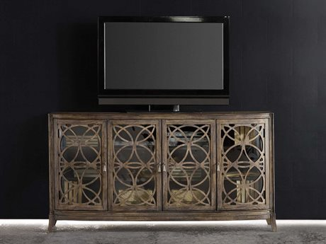 Hooker Furniture Melange Medium Wood 70''L x 20''W Rectangular Entertainment Console HOO63855010