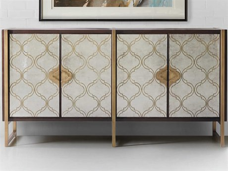 Hooker Furniture Melange Dark Wood TV Stand HOO63885390DKW