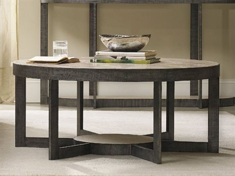 Hooker Furniture Mill Valley Gray 44'' Wide Round Cocktail Table HOO528380111