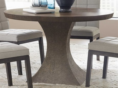 Hooker Furniture Miramar - Aventura Dark Wood 48'' Wide Round Dining Table