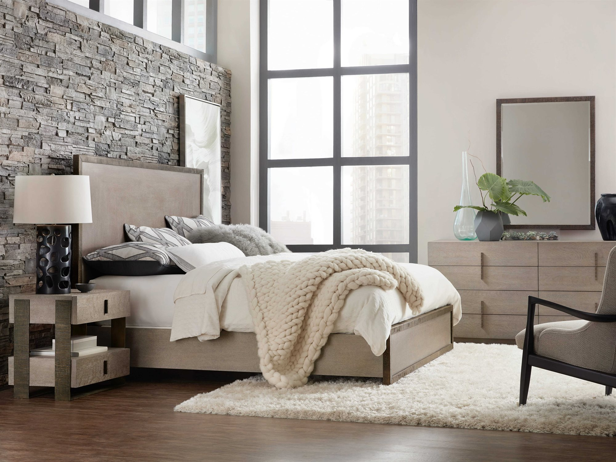 Hooker Furniture Miramar Carmel Bedroom Set