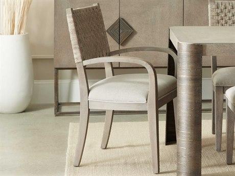 Hooker Furniture Miramar - Carmel Grays / Crafty Cement Arm Dining Chair