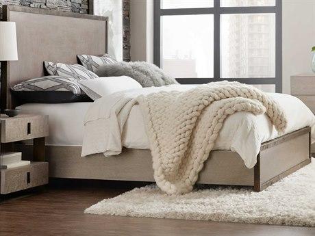 Hooker Furniture Miramar - Carmel Gray King Panel Bed