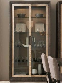 Hooker Furniture Miramar - Point Reyes Dark Wood China Cabinet HOO620175906MULTI