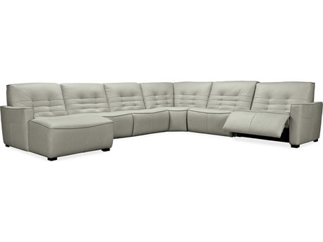 Hooker Furniture Reaux Grandier Six-Piece LAF Chaise Sectional with Two-Recliners