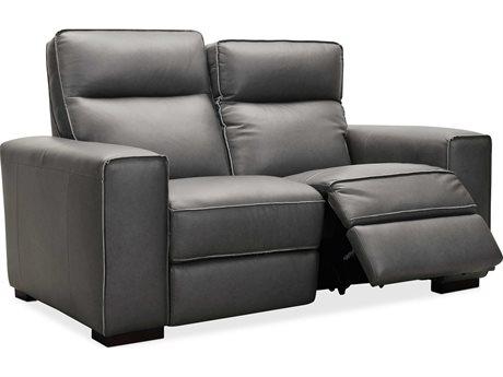 Hooker Furniture Ms Rangers Gravel / Dark Wood Loveseat Sofa